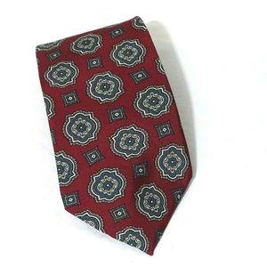 Wembley Tie Men Necktie Classic Burgundy Red